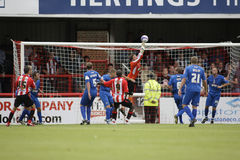 Brentford v Grimsby Town Royalty Free Stock Photos