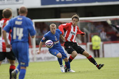 Brentford v Grimsby Town Royalty Free Stock Photography
