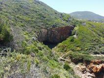 Brenton Knysna Cave Royalty-vrije Stock Foto
