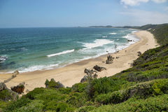 Brenton-on-Sea main beach Royalty Free Stock Images
