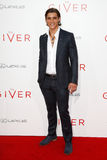 Brenton Thwaites. NEW YORK-AUG 11: Actor Brenton Thwaites attends the premiere of The Giver at the Ziegfeld Theatre on August 11, 2014 in New York City Royalty Free Stock Images