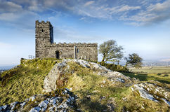 Brentor Church in Dartmoor Royalty Free Stock Photos