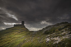 Brentor Church Dartmoor Devon Uk Royalty Free Stock Photos