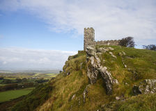 Brentor Church Dartmoor in winter Stock Photos