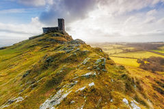 Brentor, Dartmoor National Park, Devon Stock Image