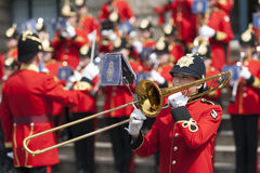 The Brentwood Imperial Youth Band in Hannover Stock Image