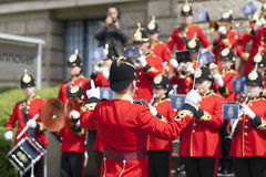 The Brentwood Imperial Youth Band in Hannover Stock Photography