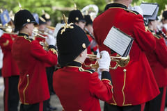 The Brentwood Imperial Youth Band in Hannover Stock Photo