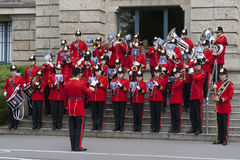 The Brentwood Imperial Youth Band in Hannover Royalty Free Stock Image
