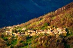 Brenzio small village North of Lake Como Royalty Free Stock Photo
