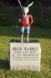 Brer królik przy wuja Remus muzeum Fotografia Stock