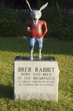 Brer Rabbit at Uncle Remus Museum. Br'er Rabbit statue at the Uncle Remus Museum in Eatonton, Georgia, the hometown of Joel Chandler Harris, author of the Stock Photography