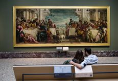 Brera konstgalleri, Milan Royaltyfri Bild