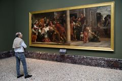 Brera konstgalleri, Milan Royaltyfri Fotografi