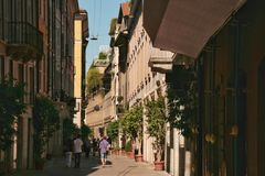 Brera, Milán Fotos de archivo