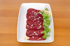 Bresaola Royalty Free Stock Images