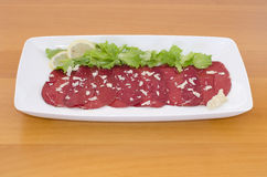 Bresaola Royalty Free Stock Photography