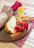 Bresaola appetizer Royalty Free Stock Image