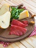 Bresaola appetizer Stock Photos