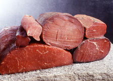 Bresaola Royalty Free Stock Image