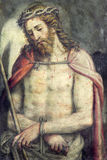 BRESCIA, ΙΤΑΛΙΑ, 2016: Η νωπογραφία του ανθρώπου Ecce στην εκκλησία Chiesa Di SAN Alessandro Στοκ φωτογραφία με δικαίωμα ελεύθερης χρήσης