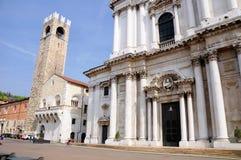 Brescia architecture. Italy. Royalty Free Stock Photography