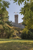 Brescia Castle Royalty Free Stock Image