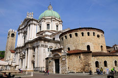 Brescia cathedral. Stock Image
