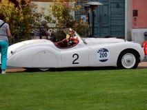 Brescia - coche del vintage para 1000 millas Foto de archivo libre de regalías