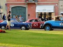 Brescia - historiska bilar för de 1000 mil Royaltyfri Bild