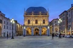 Brescia Italien royaltyfria foton