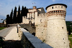 Brescia, Italy: 1343 Castello (Castle) Stock Photography
