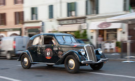 BRESCIA,ITALY - MAY,17: Mille Miglia Royalty Free Stock Photography
