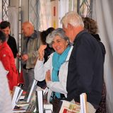 Book Fair in Brescia `Librixia` untranslatable. Bookstores large and small display their best books. Royalty Free Stock Photography