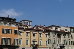 Brescia in the region of Lombardy in northern Italy Royalty Free Stock Images