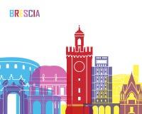 Brescia skyline pop. In editable vector file