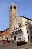 Brescia stadstorn Arkivbild