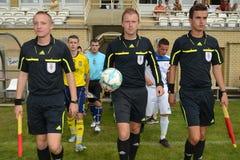Brescia - SYFA bajo juego de fútbol 17 Fotos de archivo libres de regalías