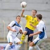 Brescia - SYFA bajo juego de fútbol 17 Fotografía de archivo