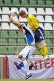 Brescia - SYFA bajo juego de fútbol 17 Fotos de archivo