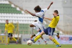 Brescia - SYFA bajo juego de fútbol 17 Fotografía de archivo libre de regalías