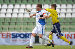 Brescia - SYFA under 17 soccer game Stock Images