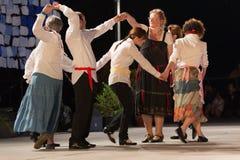 Brescia, Włochy 28 Maj, 2016 14th festiwal ludowy taniec, rosjanów tanowie, grupa Fotografia Royalty Free