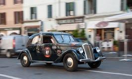 BRESCIA, WŁOCHY - MAY, 17: Mille Miglia Fotografia Royalty Free