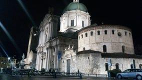 Brescias domkyrkor royaltyfria foton