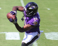 Breshad Perriman. Baltimore Ravens WR Breshad Perriman, #18 Royalty Free Stock Photos