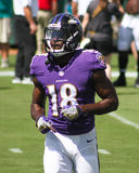Breshad Perriman. Baltimore Ravens WR Breshad Perriman, #18 Royalty Free Stock Images