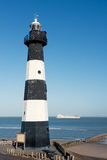 Breskens lighthouse Royalty Free Stock Photography