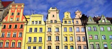 Breslau - alte Stadt, Polen, Europa Stockfotos