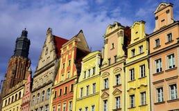 Breslau - alte Stadt, Polen, Europa Lizenzfreie Stockfotos